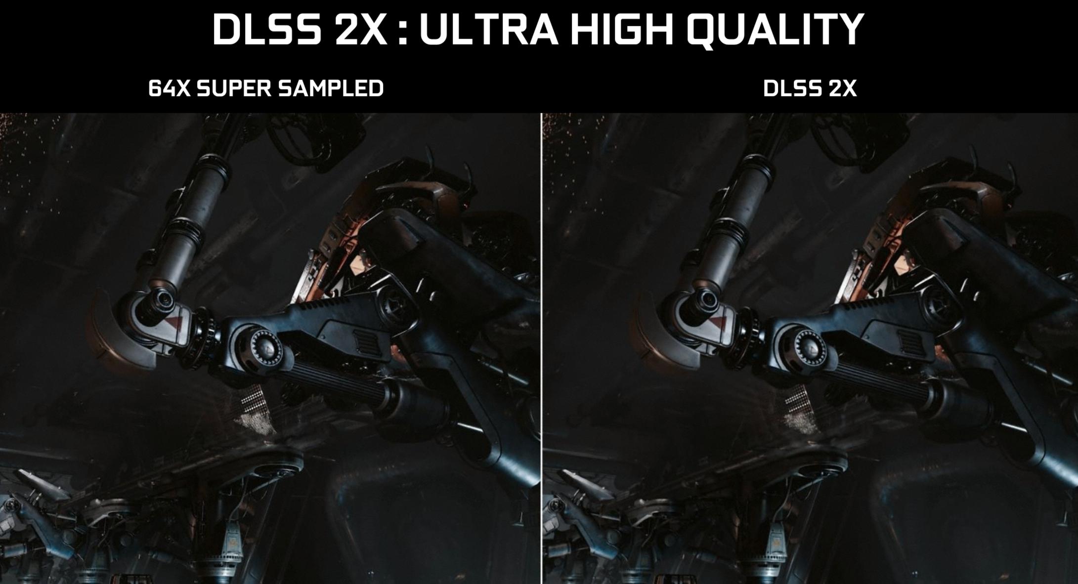 Disse to utjevningsteknikkene skal vare omtrent like presise, men der SSx64 vil knele maskinen din skal DLSSx2 flyte som smør.