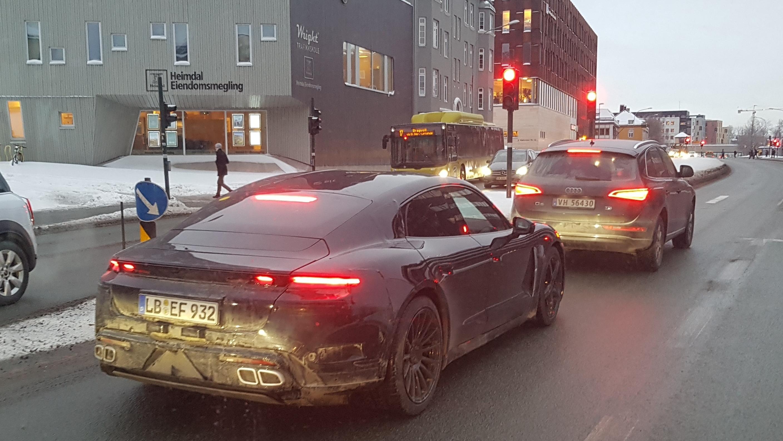 Porschene har også vært å se i Trondheim.