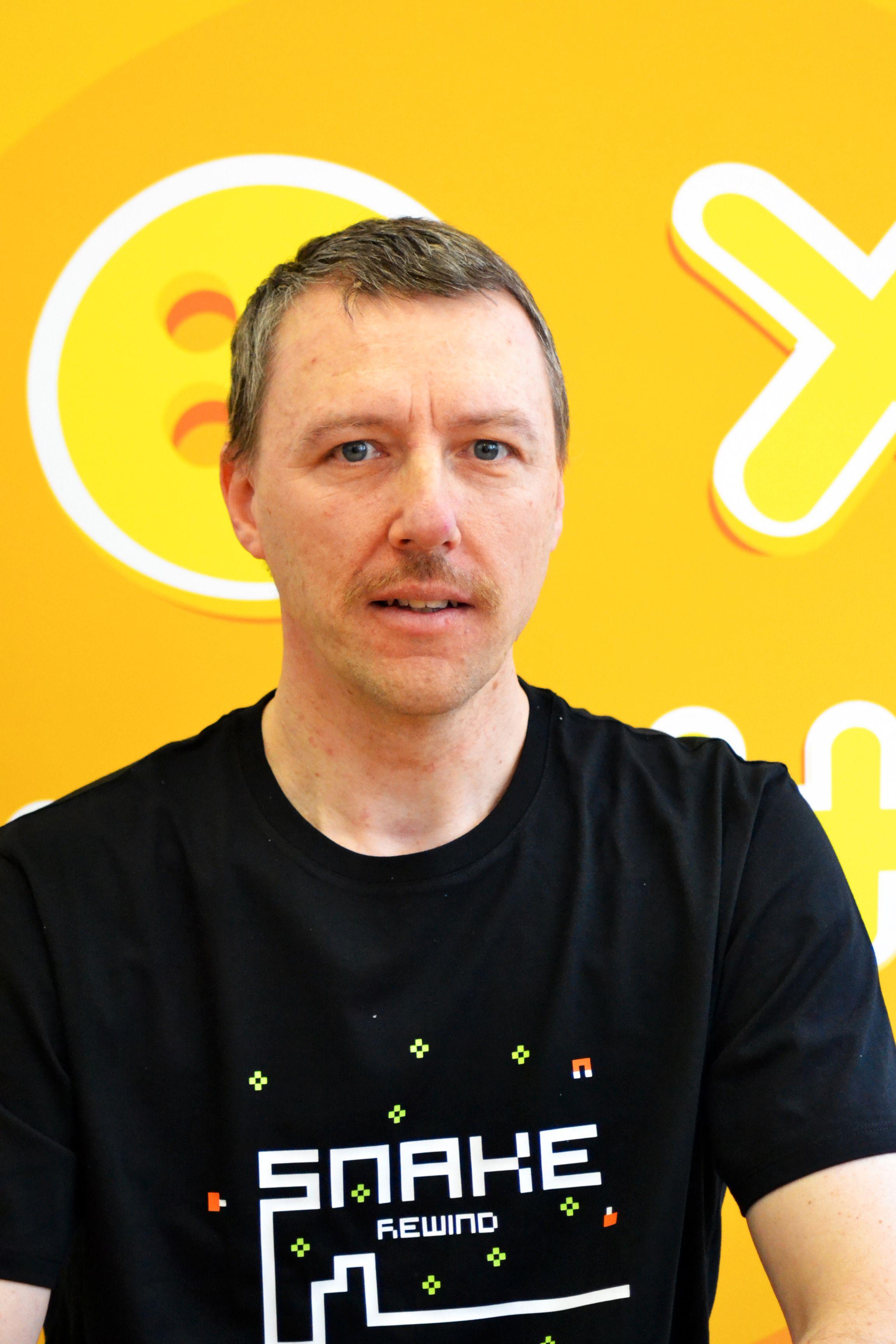 Taneli Armanto var mannen som lagde mobilutgaven av Snake for Nokia. Foto: rumilusdesign.com