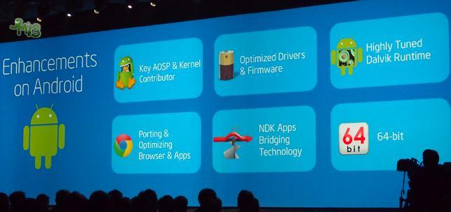 Intel presenterte sine fremtidsplaner på Intel Developer Forum.Foto: Android Authority