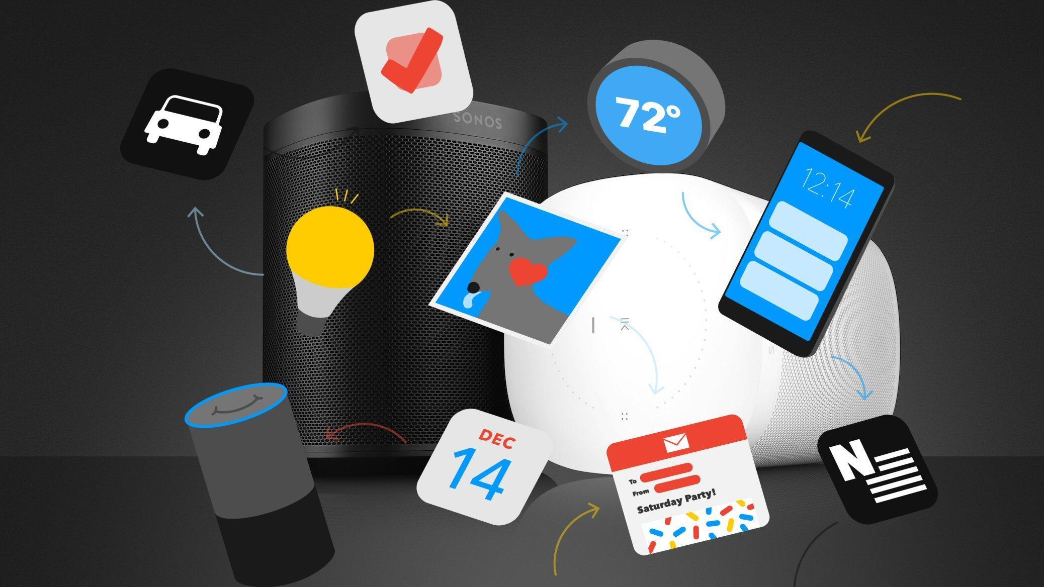 Allerede nå kan du sette på Sonos med Google Assistent