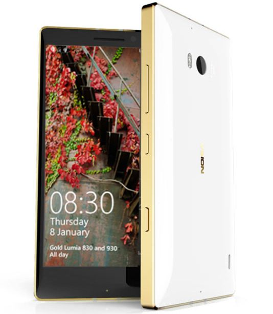 Lumia 930 Gold. Foto: Microsoft