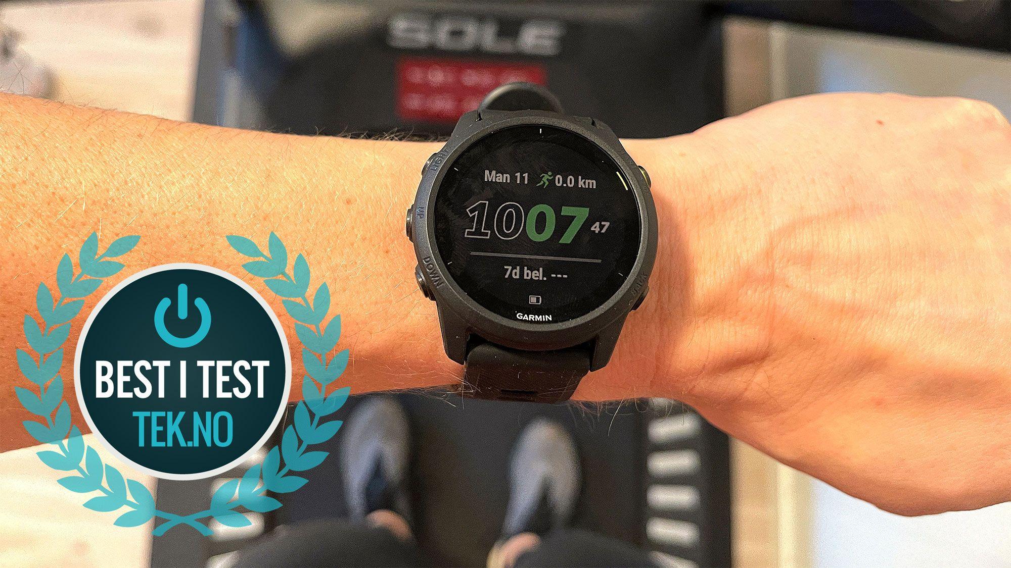 INGEN TID Å MISTE: Med denne klokken får du full løpsdynamikk underveis, gode analyser i etterkant og en meget god klokke. Den vil være tilfredsstillende for deg som er mosjonist, samtidig som den vil utvikle deg som ønsker å starte med trening.