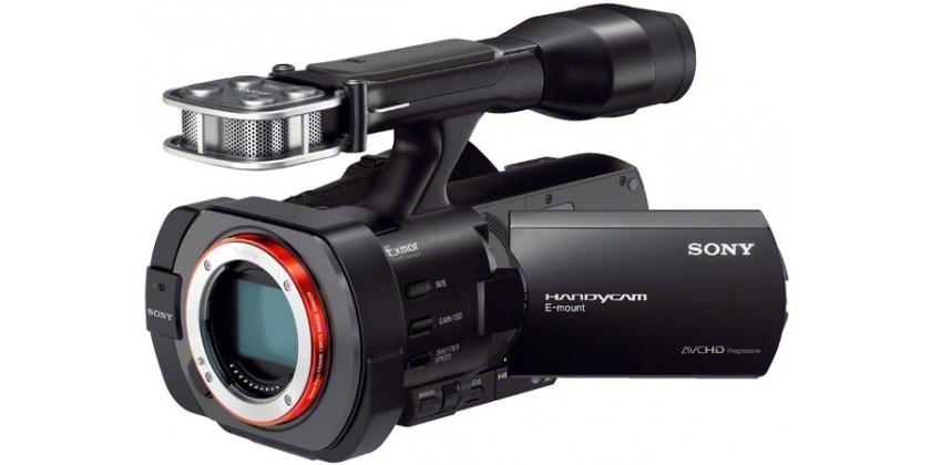 Sony NEX-VG900E.Foto: Sony