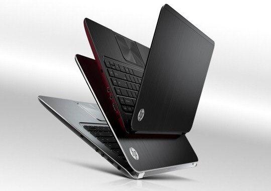 HPs nye Ultrabook- og Ultrasleek-modeller kommer i sølv og rød/sort.