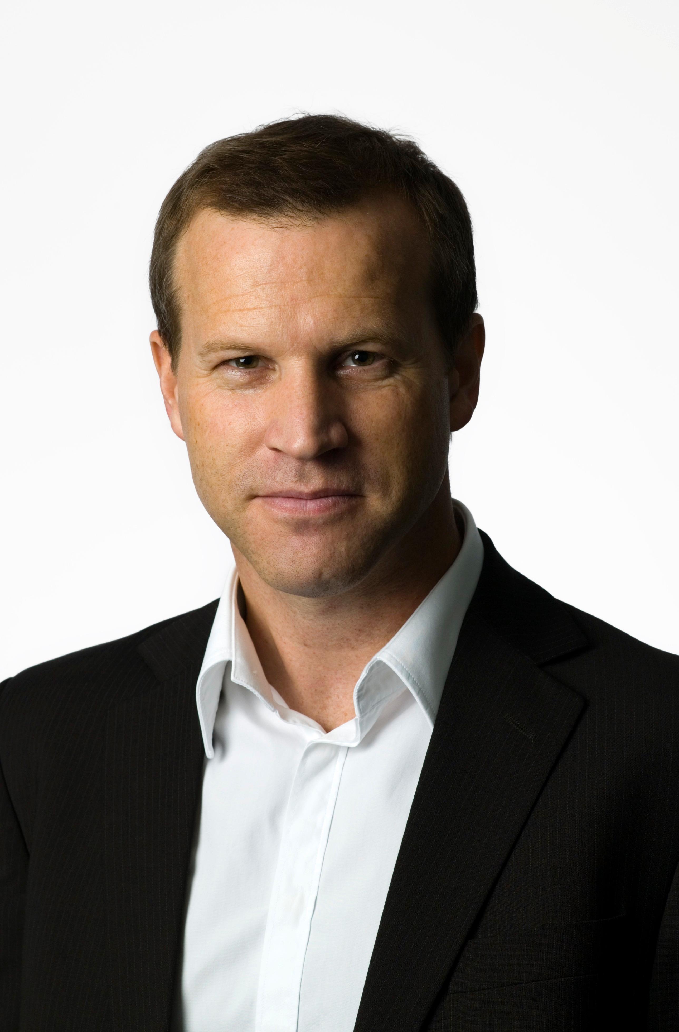 Anders Krokan, informasjonssjef i Telenor.