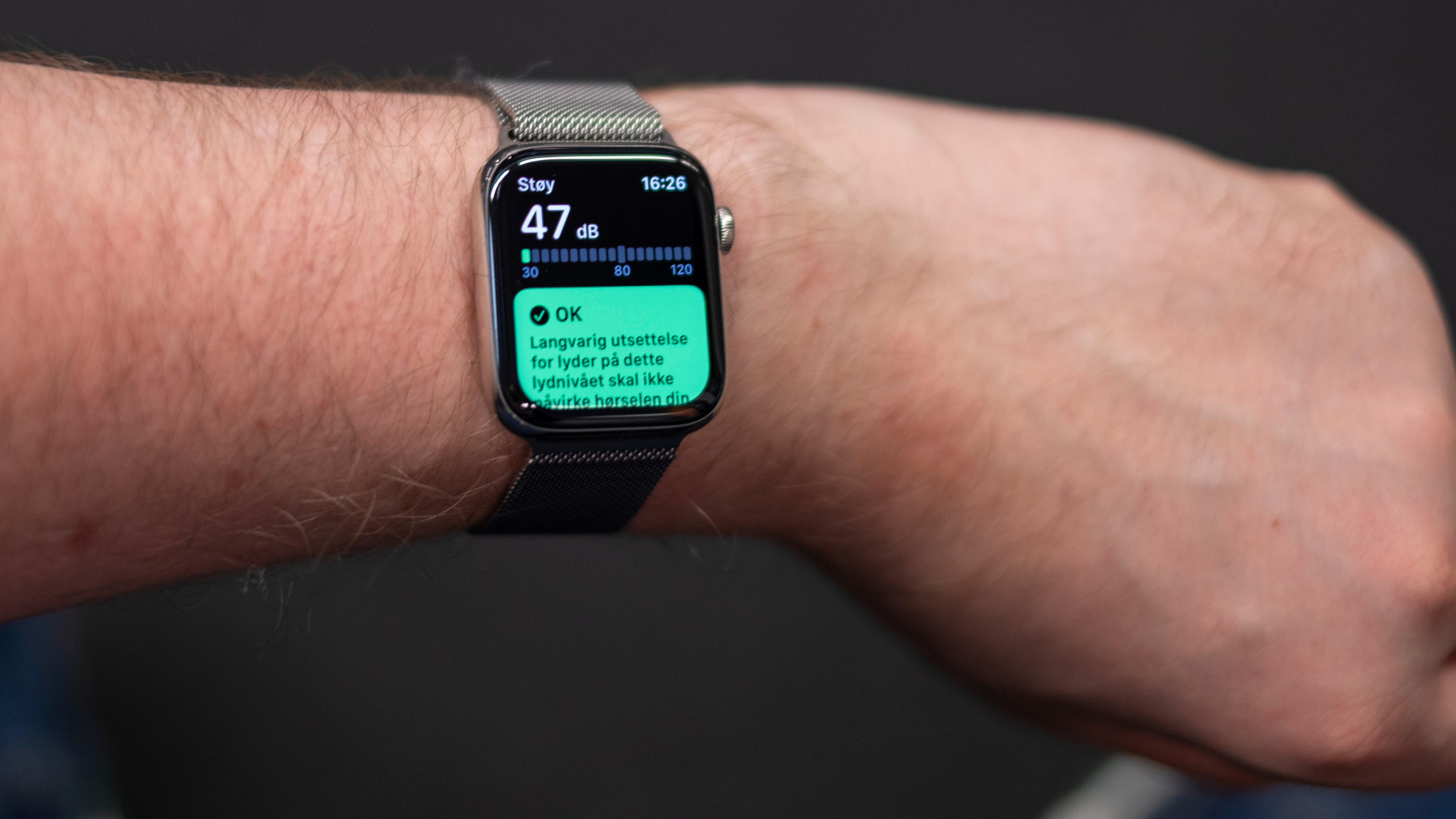 For mye bråk? Nå kan Apple Watch varsle om det også.