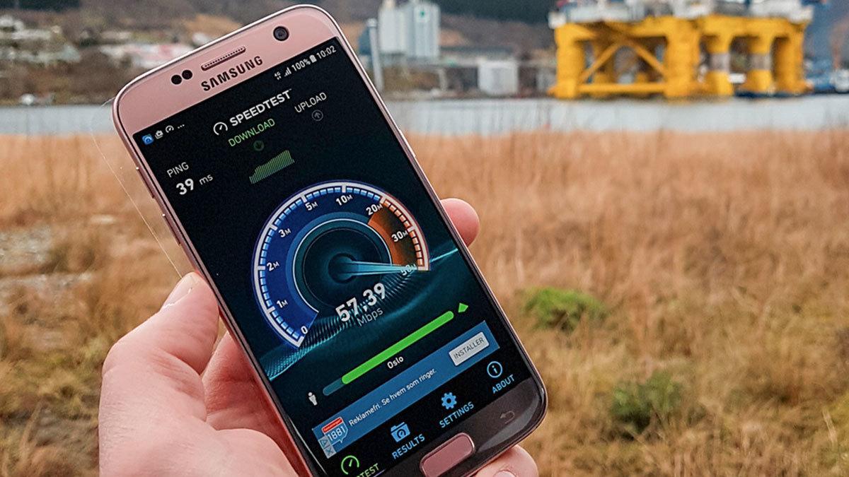 Norge har fremdeles verdens raskeste mobile bredbånd