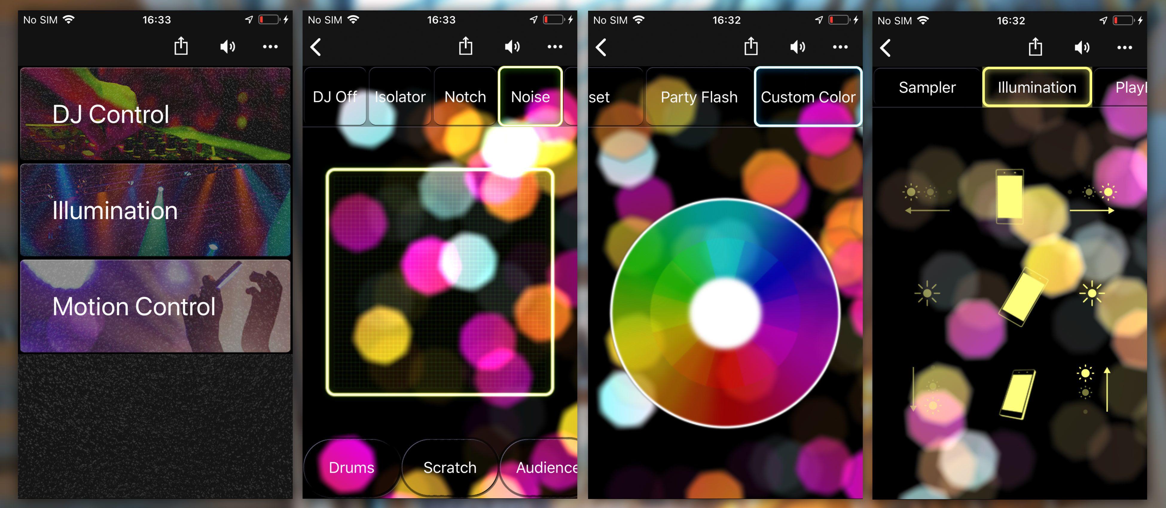 Fiestable er en rar app. Effektene er regelrett hysteriske, og grensesnittet helt forferdelig.