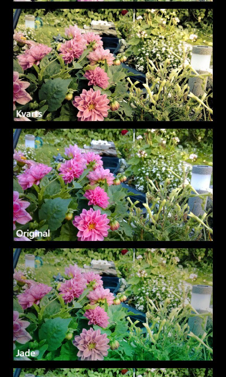Legg ulike effekter på bildene.