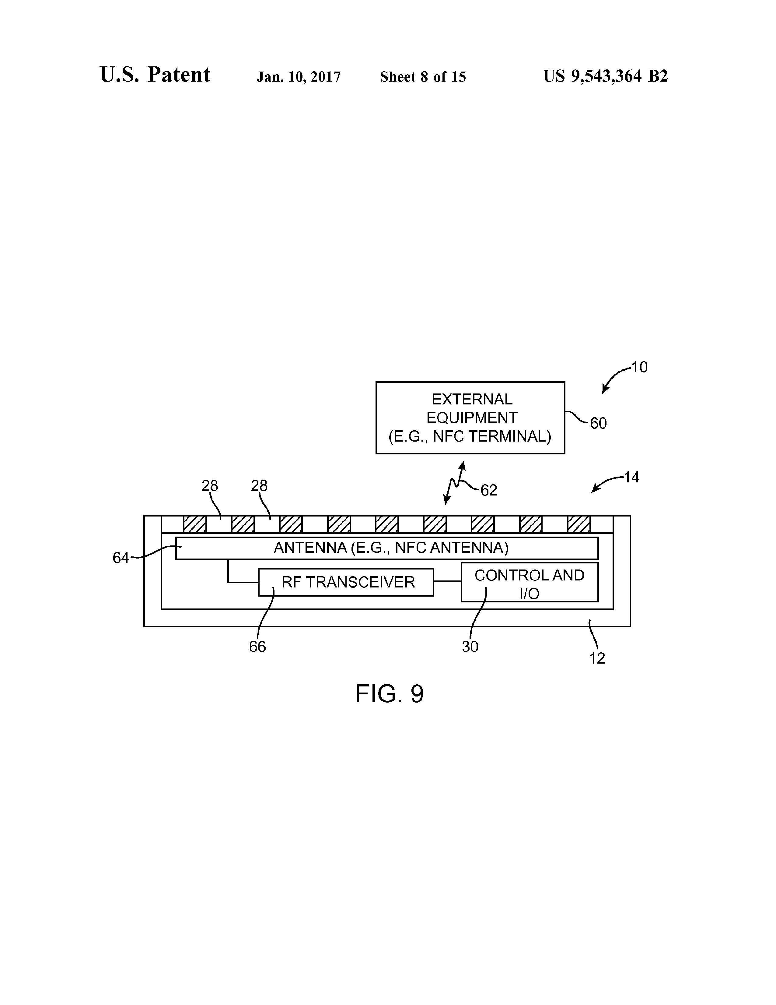 Hullene kan brukes til å gi adgang til andre elektroniske komponenter, inkludert pikslene til en sekundær skjerm.