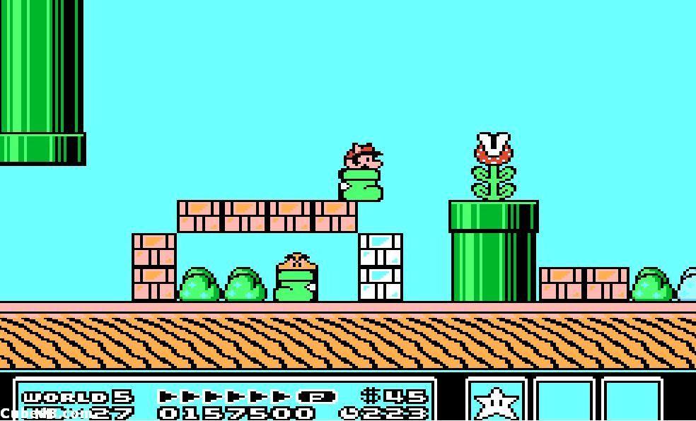 Super Mario Bros 3 er et av høydepunktene i listen over NES-spill.