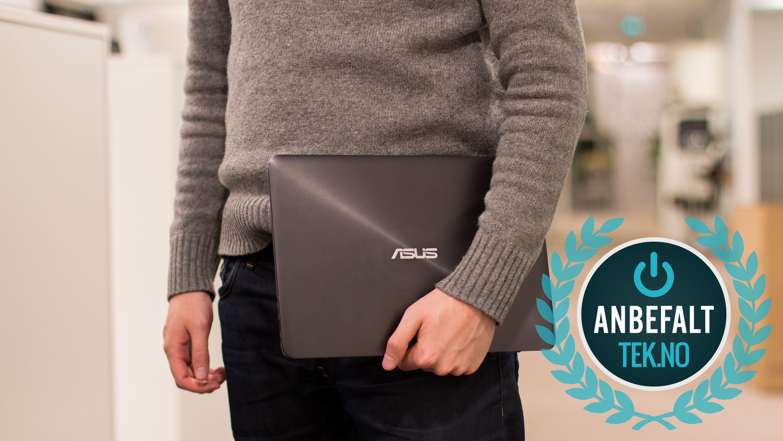 Asus ZenBook UX305 har fokus på alle de viktige ultrabærbar-tingene og belønnes med vår anbefaling. Foto: Vegar Jansen, Tek.no