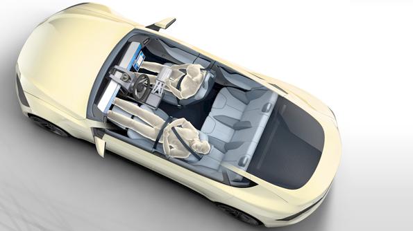 Slik kan en selvkjørende bil se ut