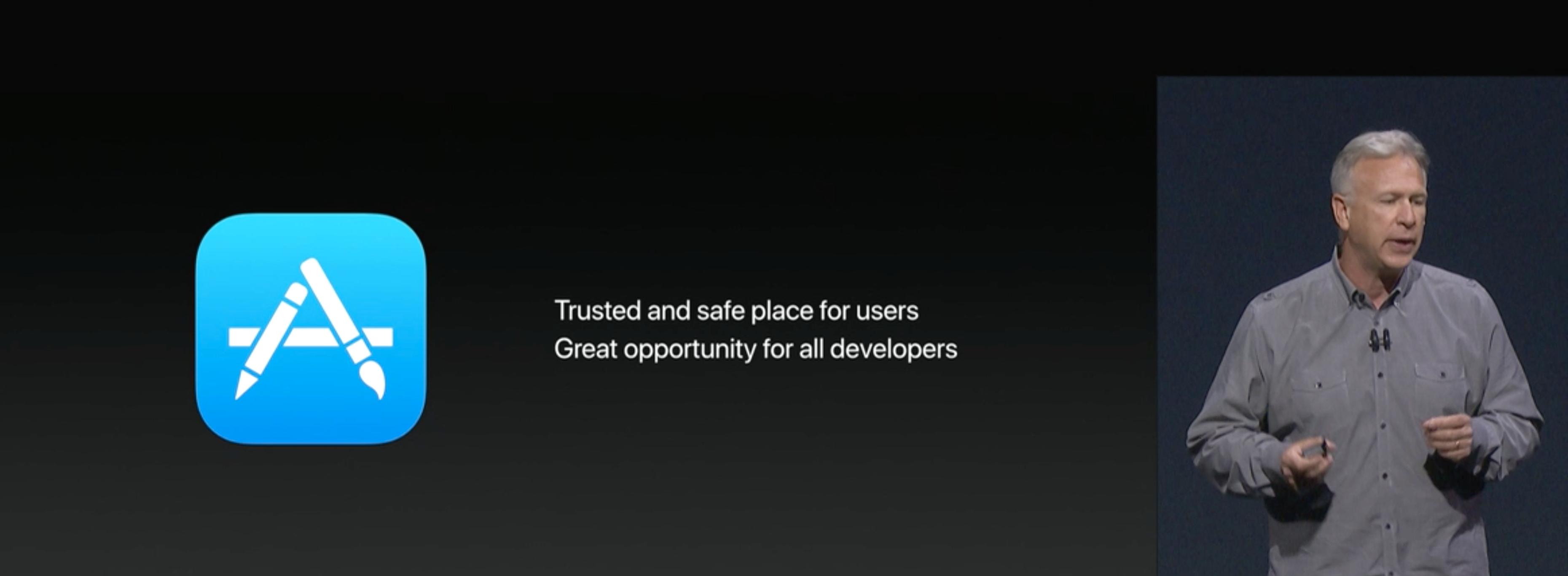 App Store i fokus.