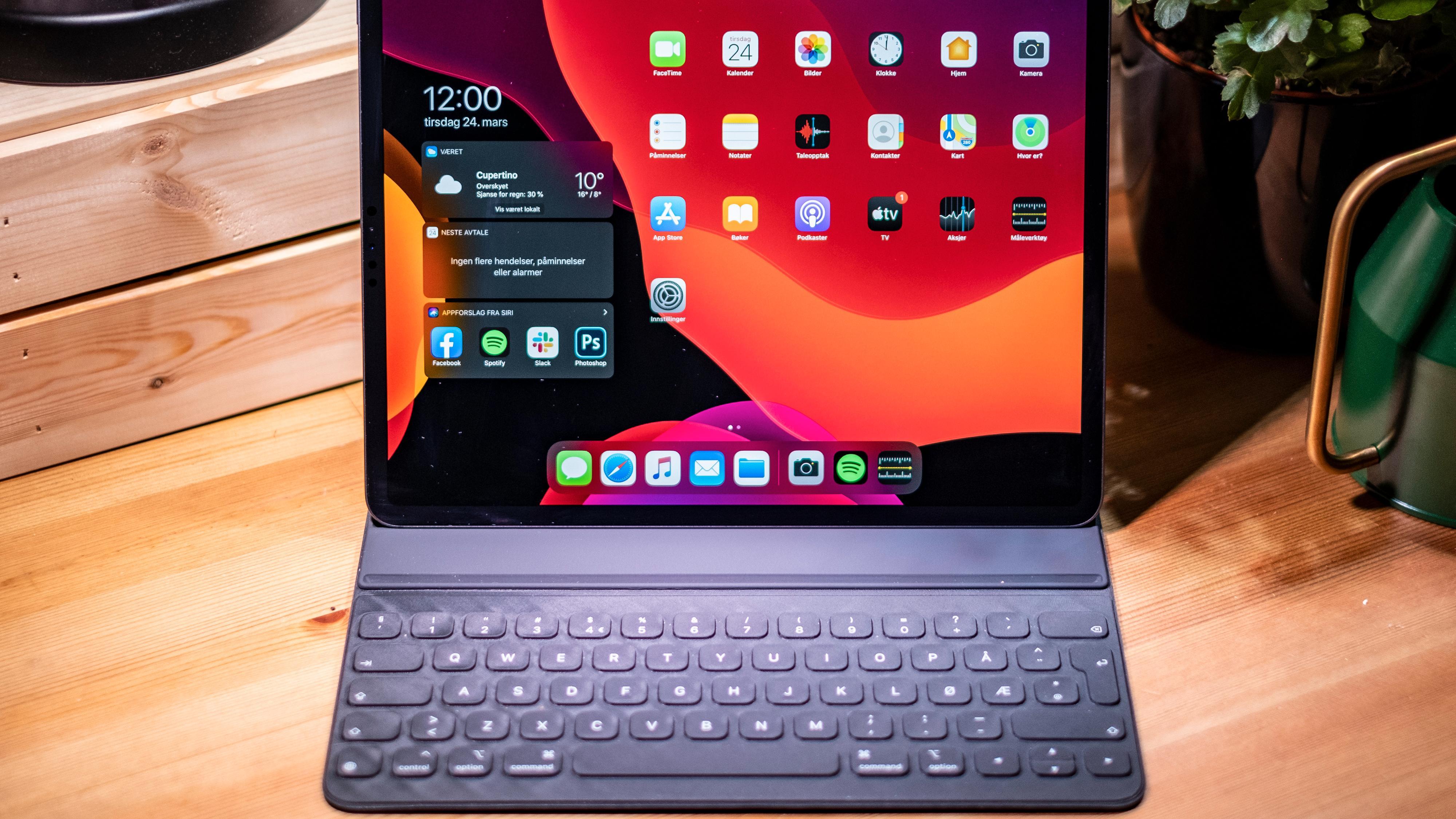 iPad eller PC? Vanskelig.