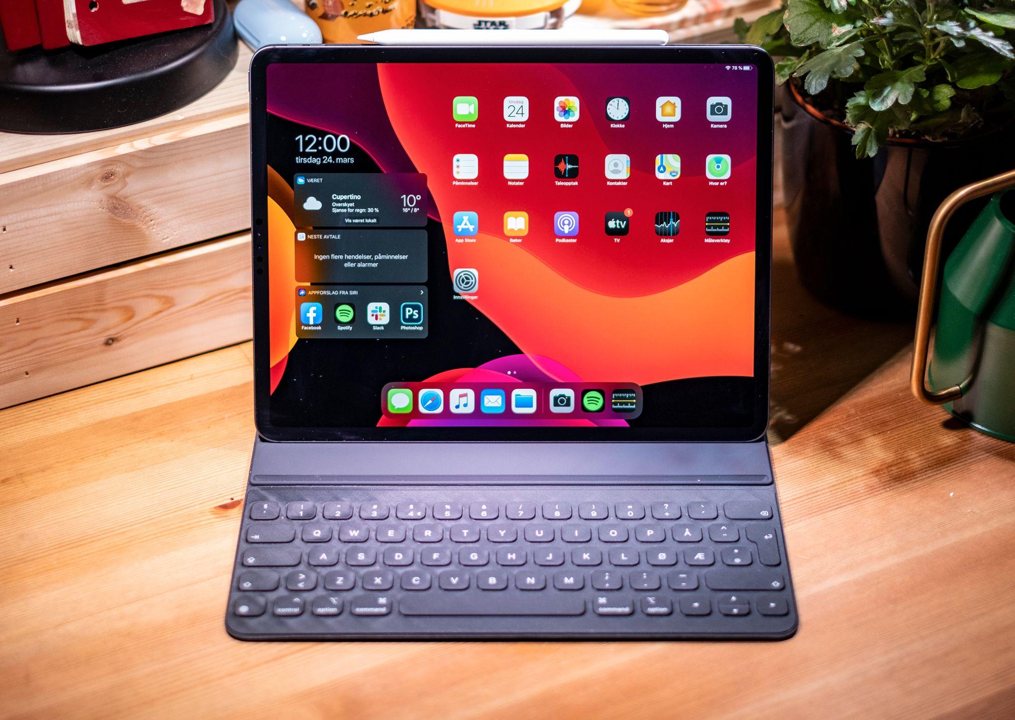 Kjøp Bluetooth tastatur Til Apple iPad 2, 3 og 4 Grå(Pris