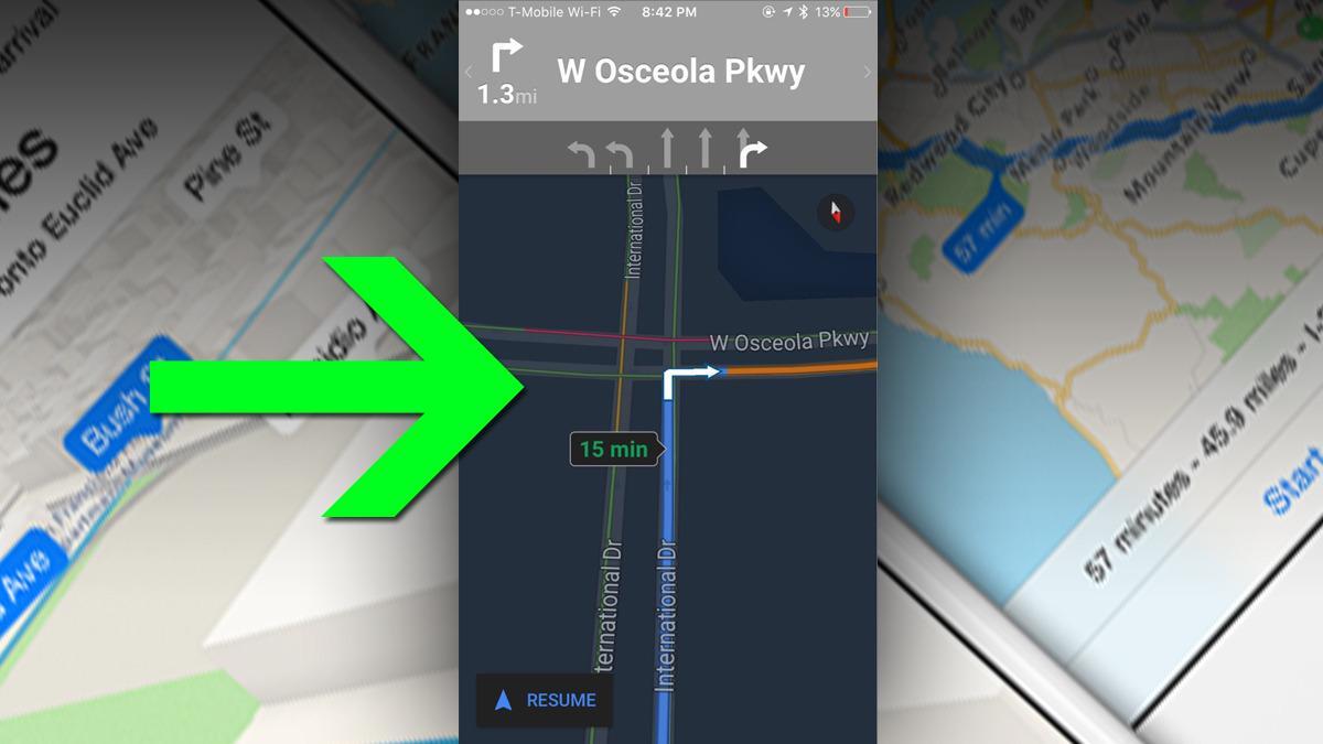 Nå blir Google Maps til iPhone bedre å bruke om kvelden