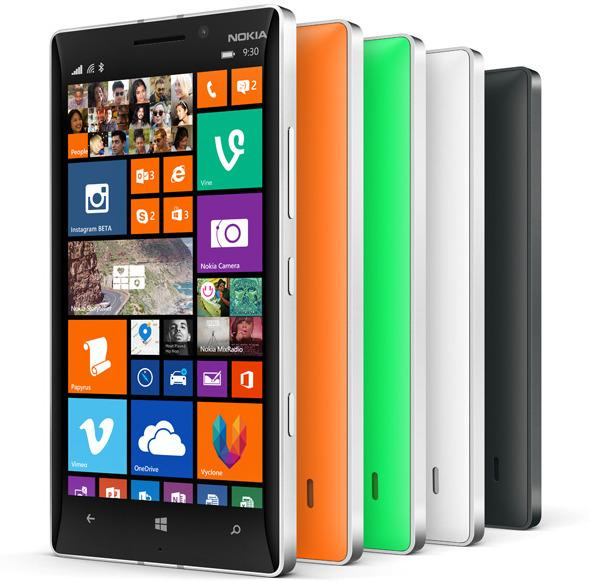 Nokia Lumia 930 kommer i en rekke «glade» farger.