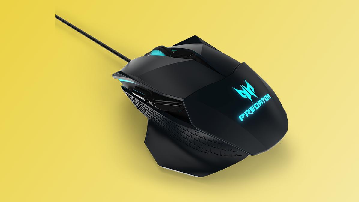 Acer lanserer en stilig spillmus som lar deg justere klikkmotstanden