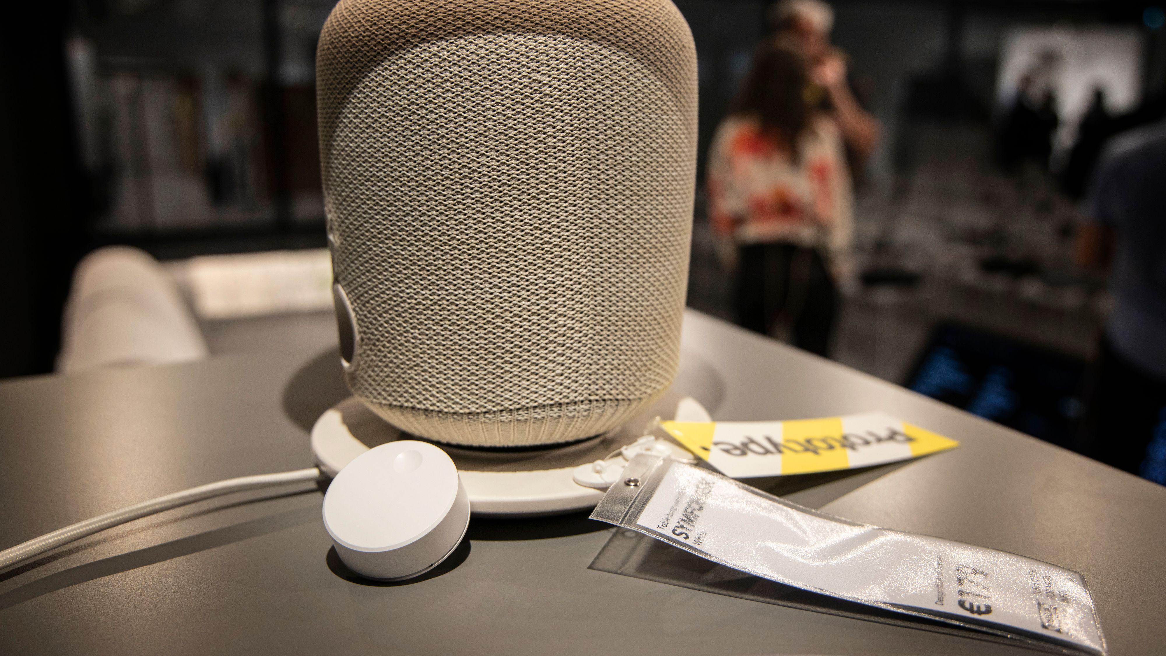 Den nye knotten kan selvfølgelig brukes sammen med Ikea og Sonos' kommende høyttalerlampe.