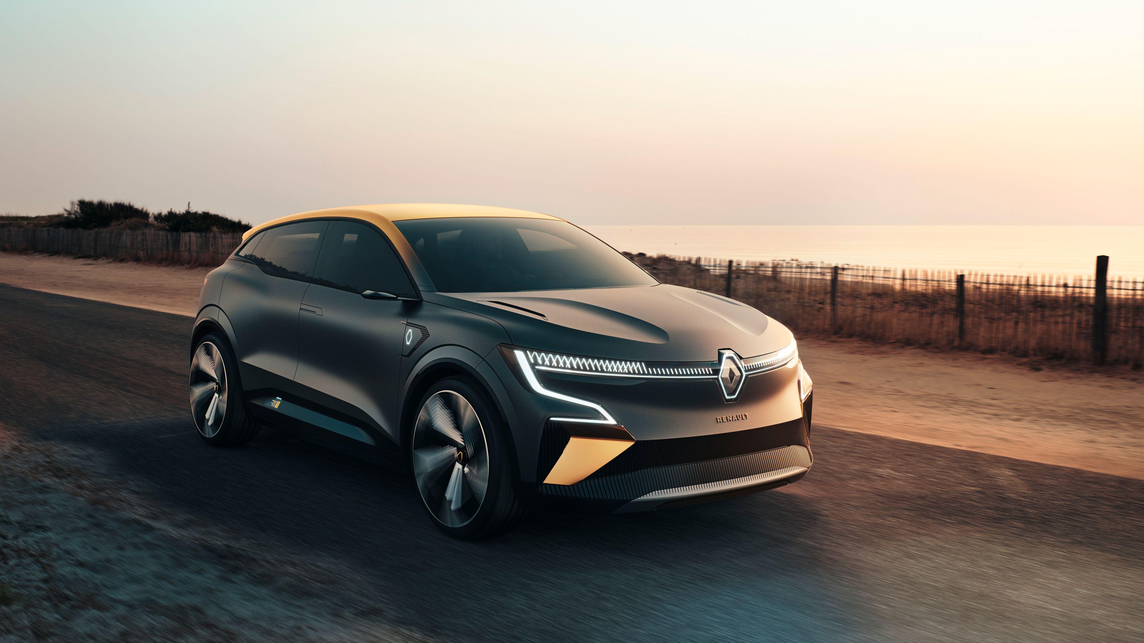 Renaults elektriske Mégane-konsept tar opp kampen direkte med Volkswagens ID.3, blant annet.