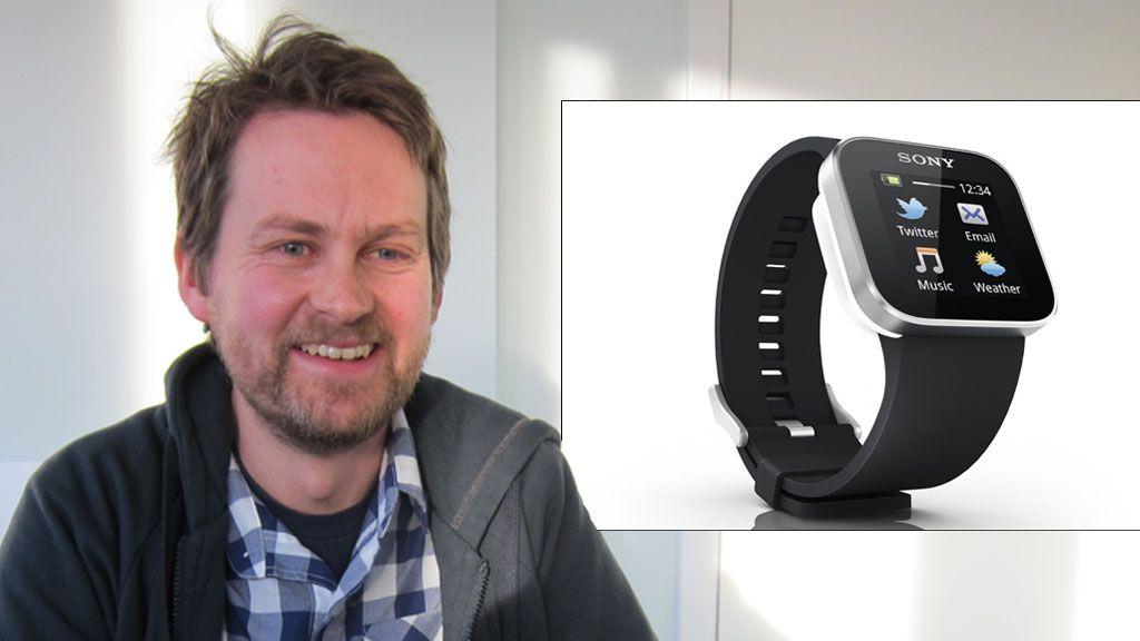 Norske Anders designet Sonys Android-klokke