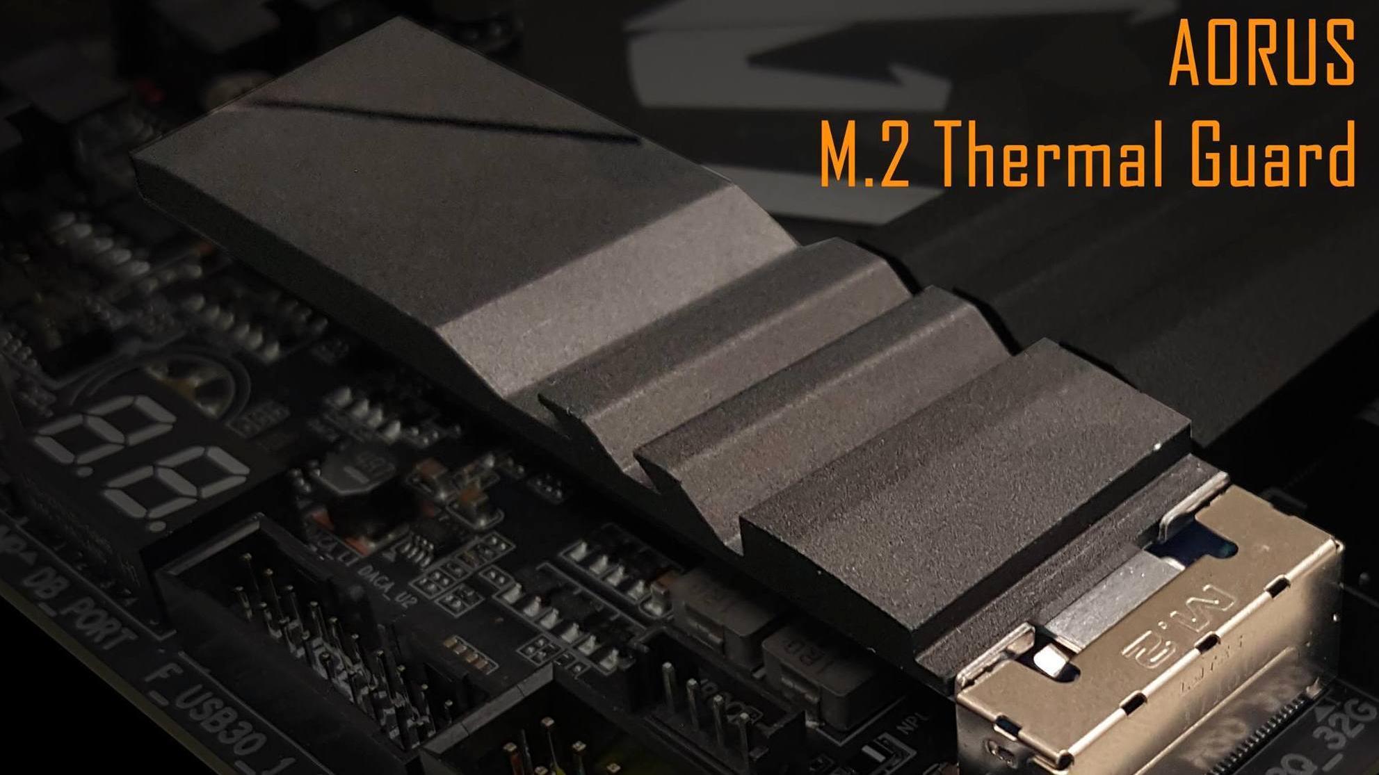 Nå har hovedkortprodusentene skjønt at en M.2-SSD trenger kjøling
