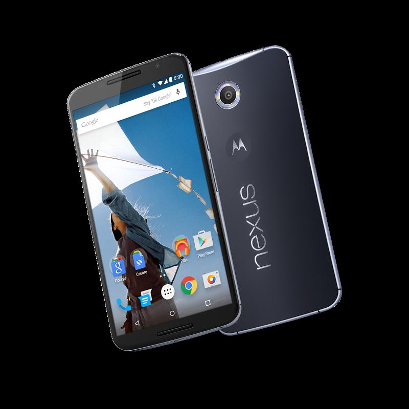 Nexus 6 blir sannsynligvis den aller første mobilen som får den nye oppgraderingen. Foto: Google