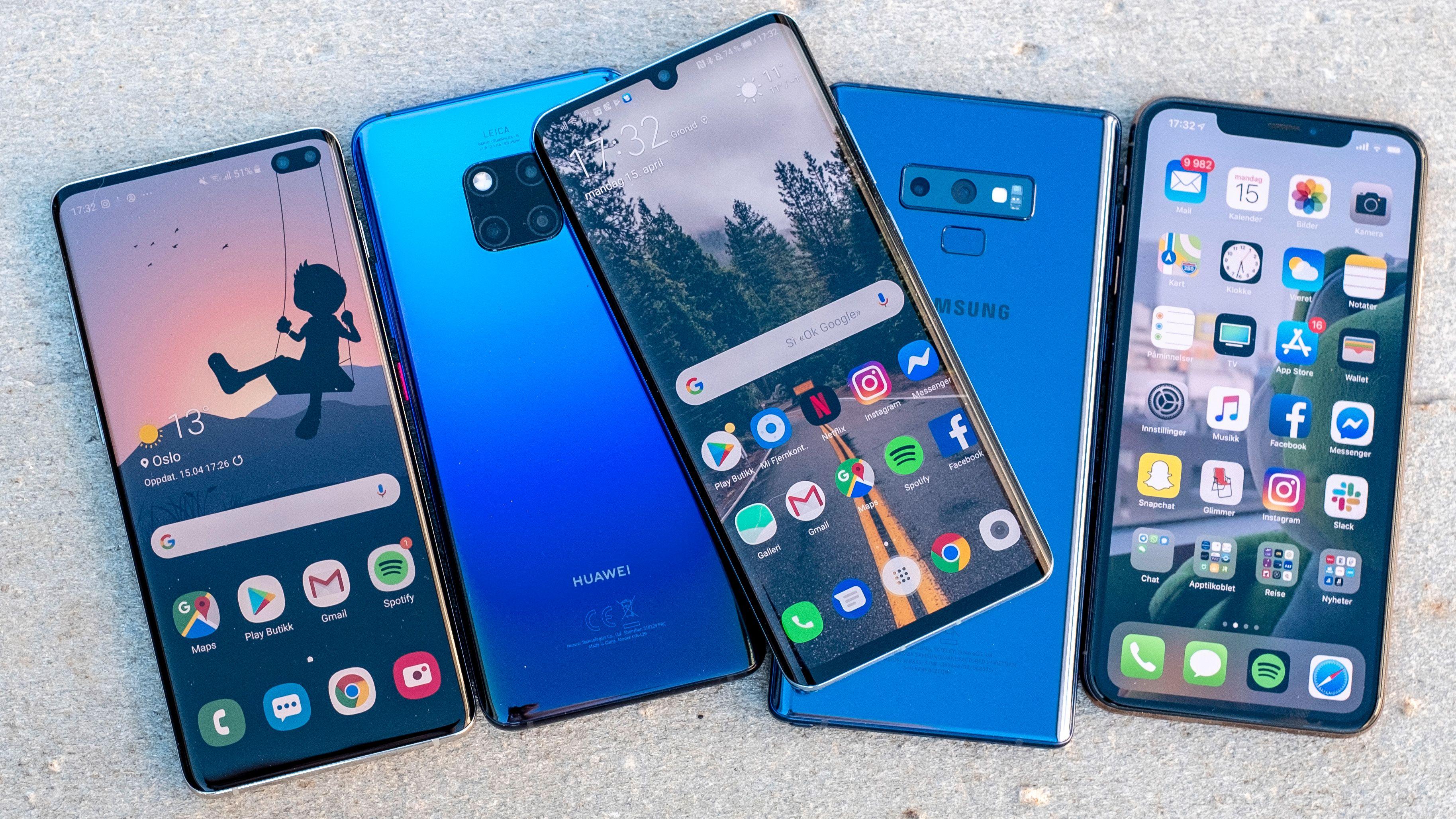 Beste mobil 2019