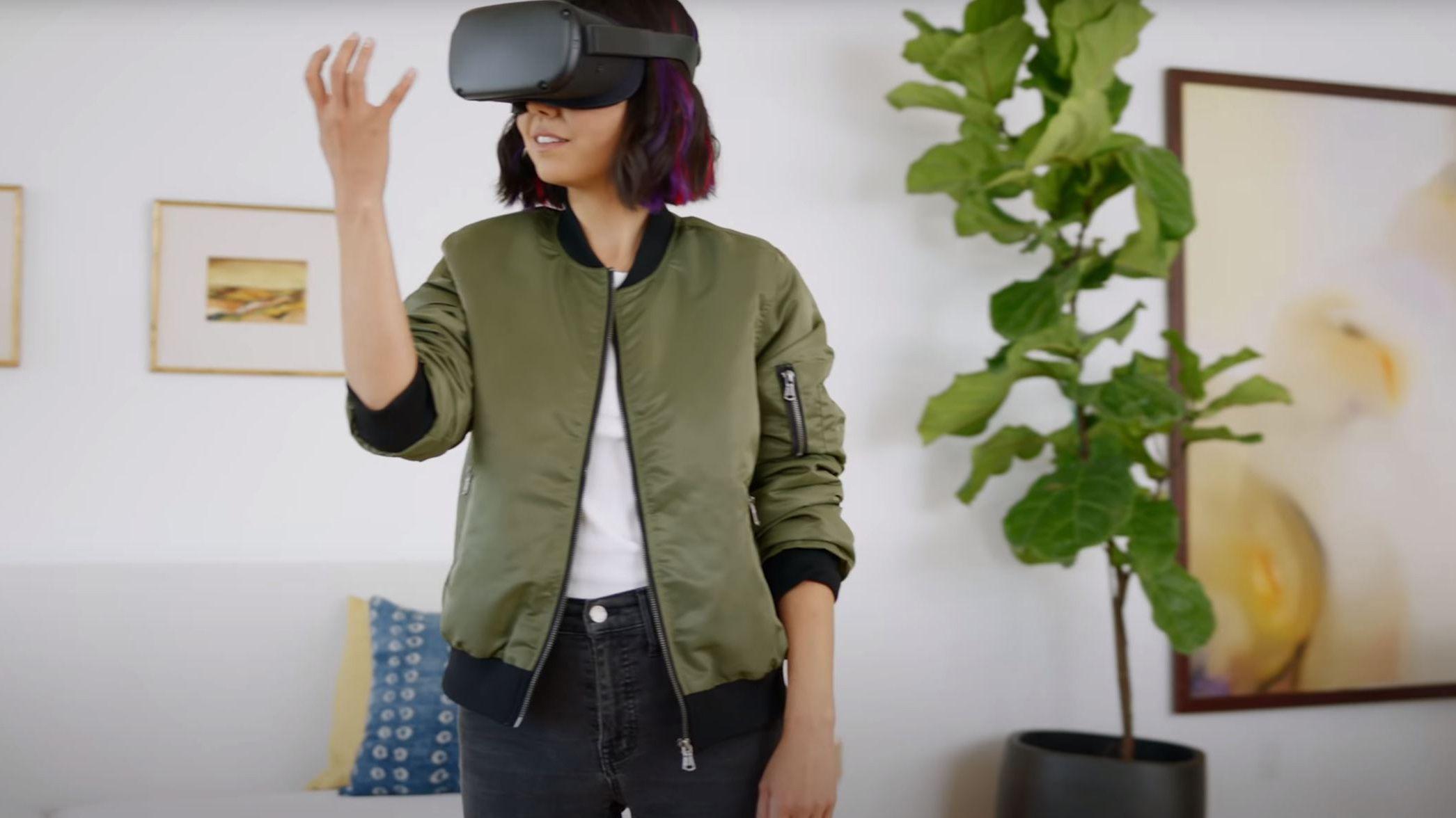 Oculus Quest får håndsporing.