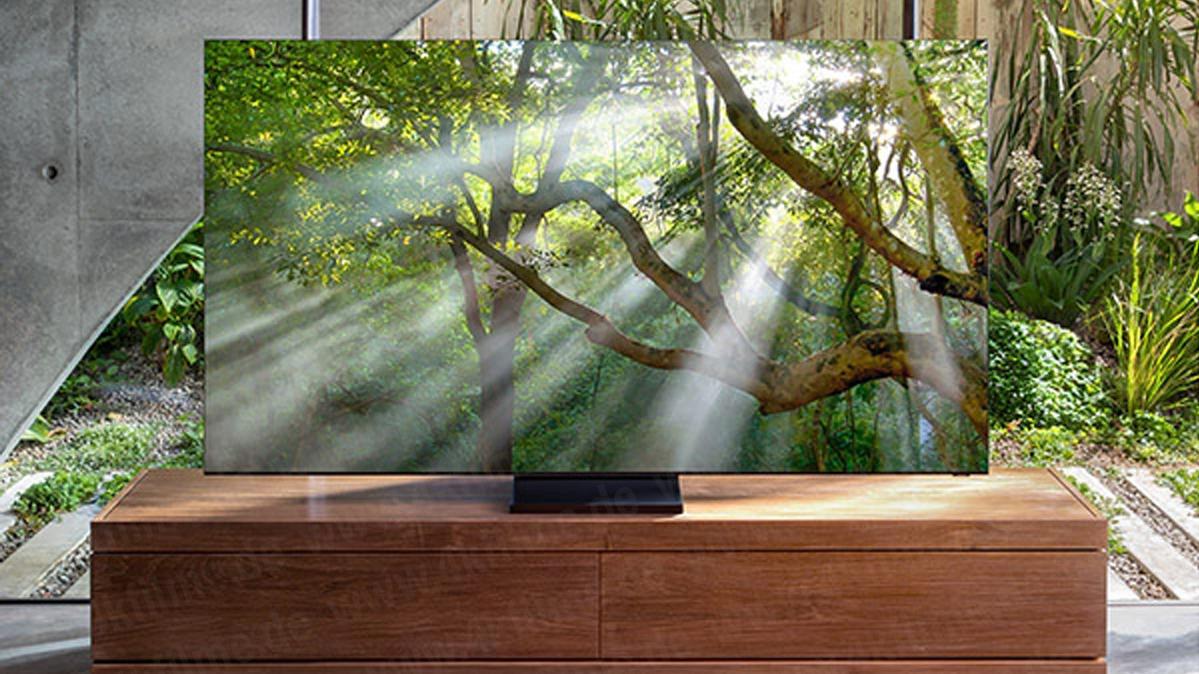 Dette kan være Samsungs «rammeløse» 8K-TV