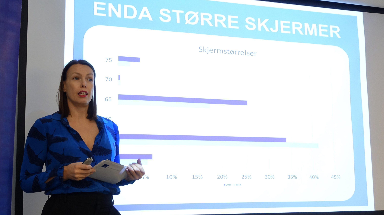 Elektronikkbransjens kommunikasjonssjef Marte Ottemo.