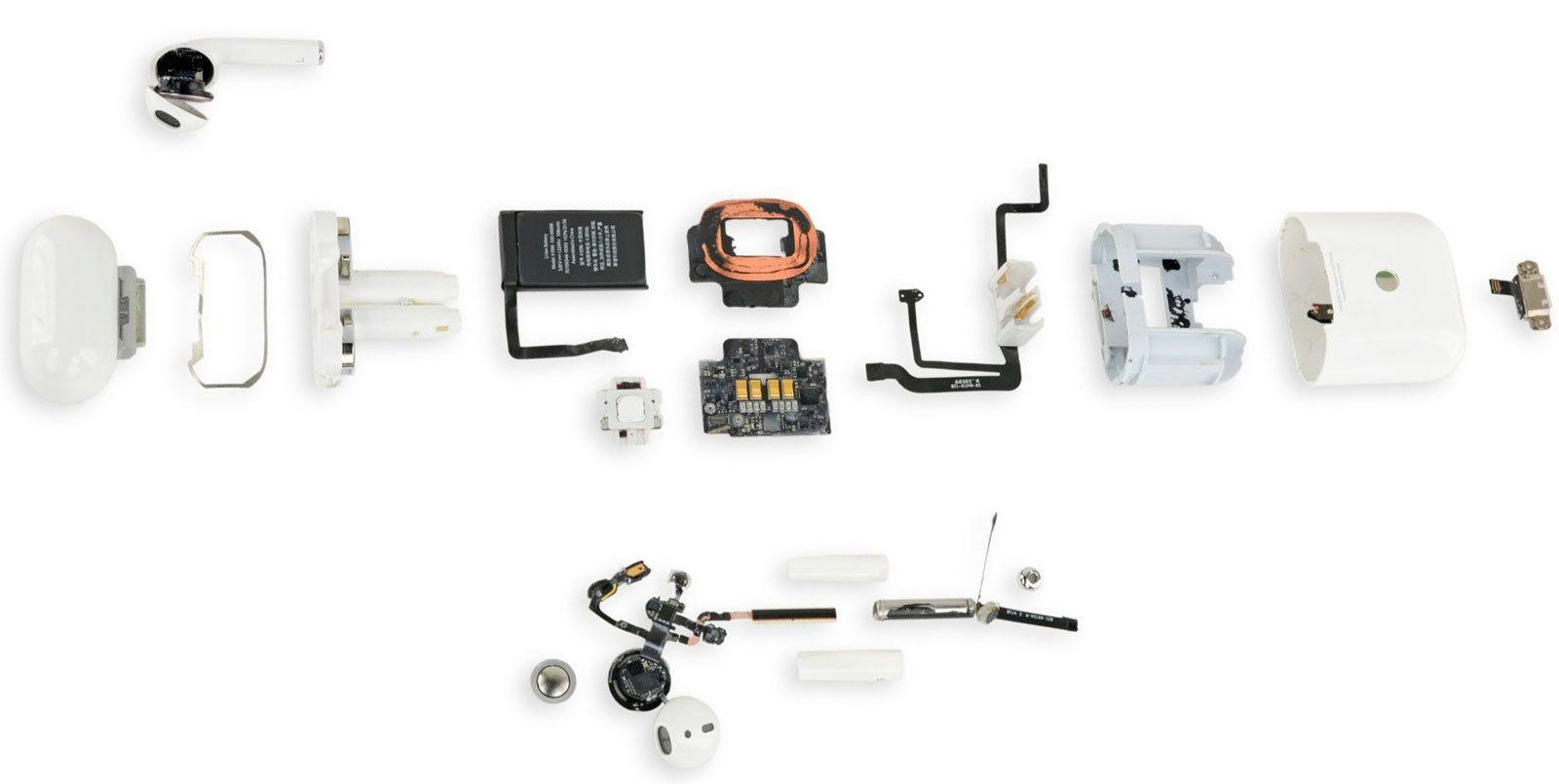 Her er alle delene Airpods består av.