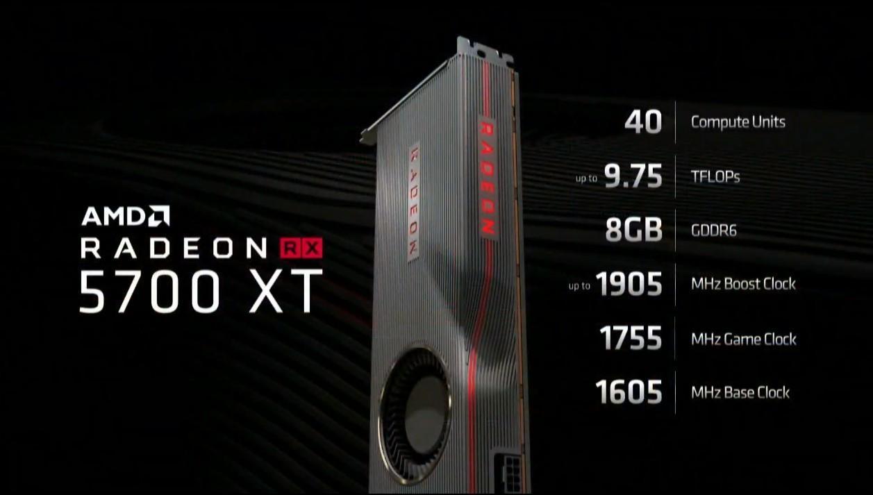 Nye RX 5700 XT.