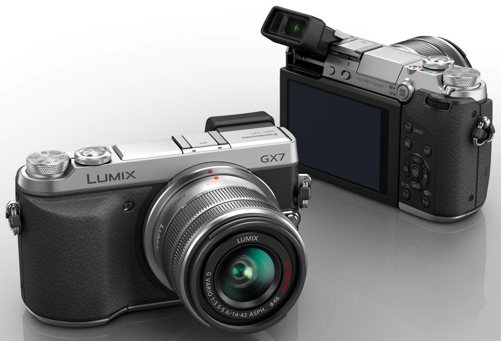 Panasonic Lumix DMC-GX7. Foto: Panasonic.
