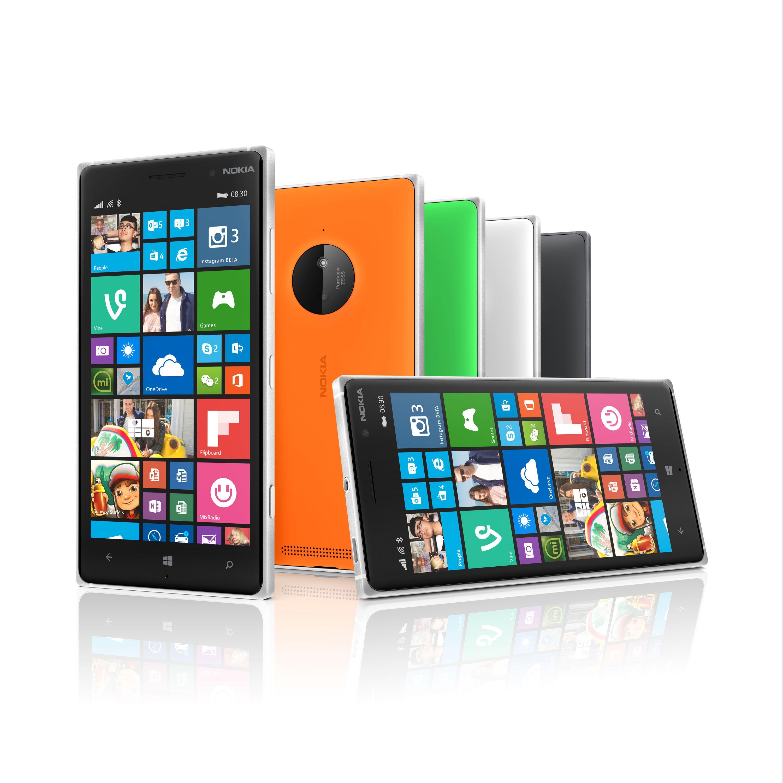 Nokia Lumia 830.Foto: Microsoft