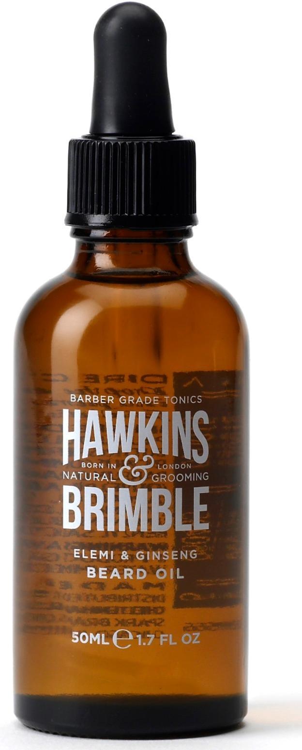 Skäggolja från Hawkins and brimble