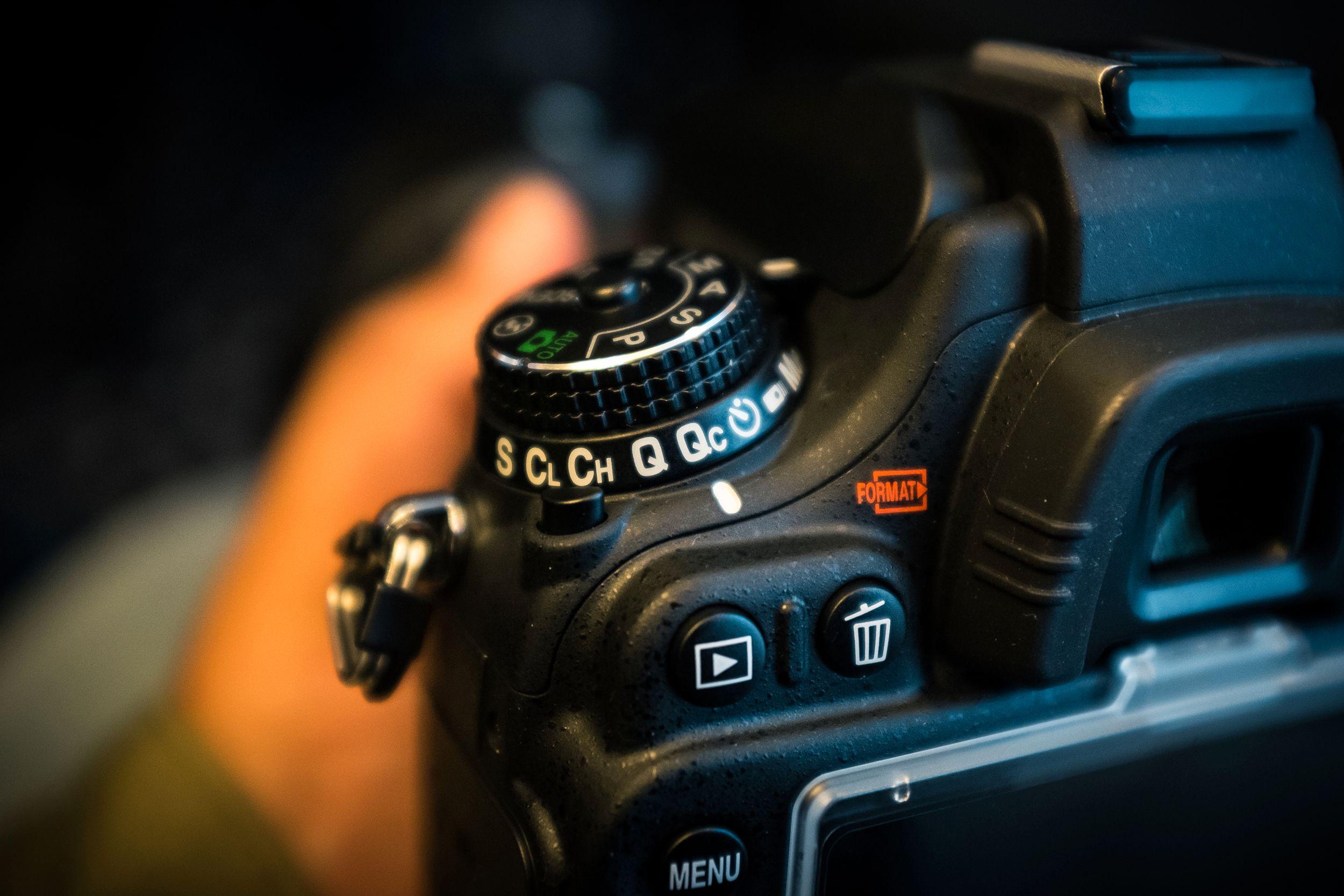 Nikon D610s nye stillemodus heter Qc. Foto: Johannes Granseth