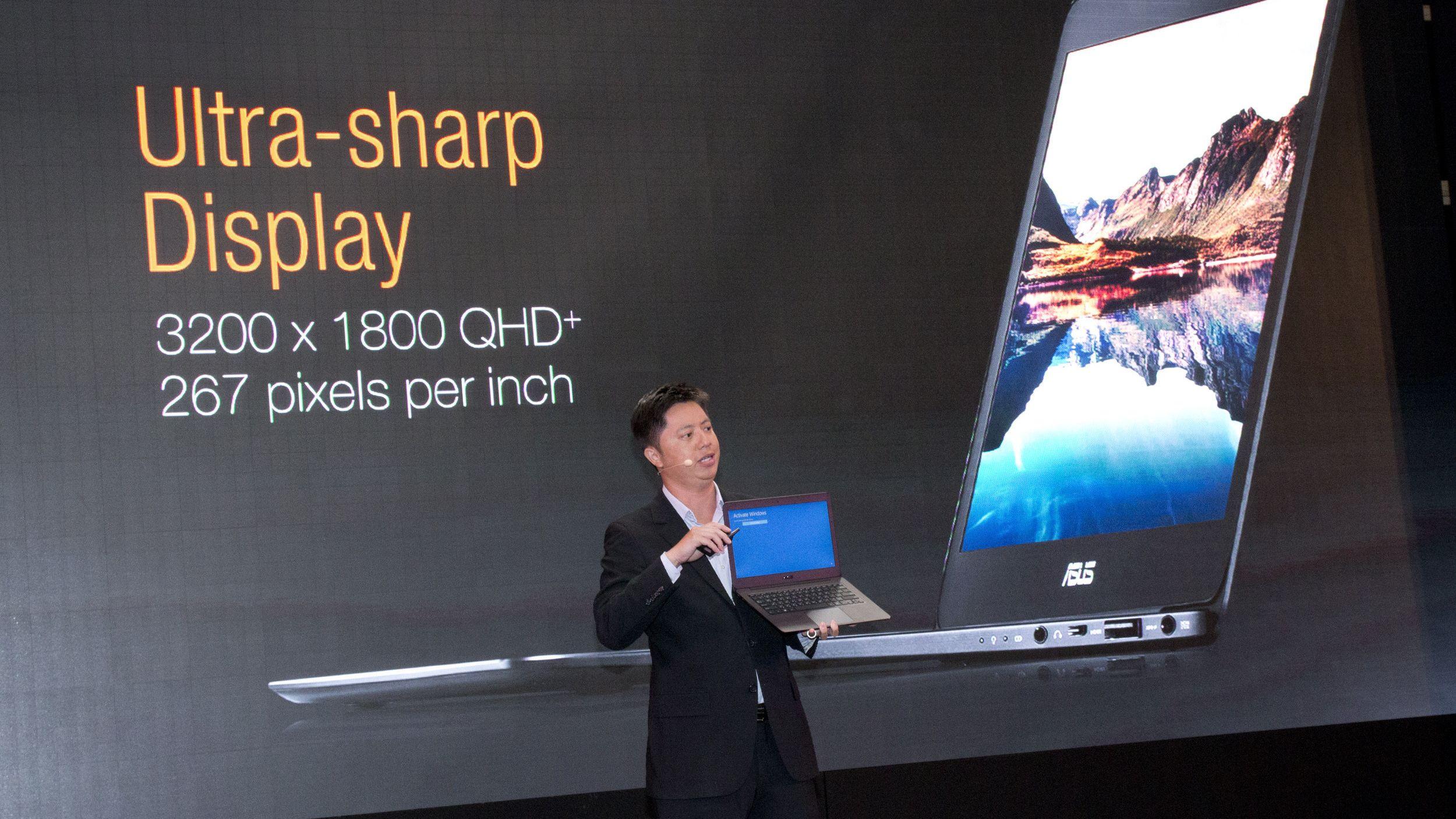 Asus' nye laptop er lekker og har skyhøy oppløsning