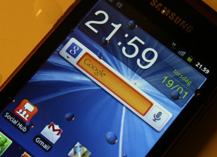 Samsung Galaxy Xcover tåler vann.