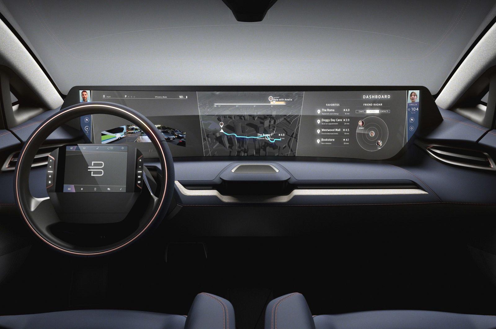 Byton skal vise frem en ganske unik bil på CES-messen. Bilde: Byton