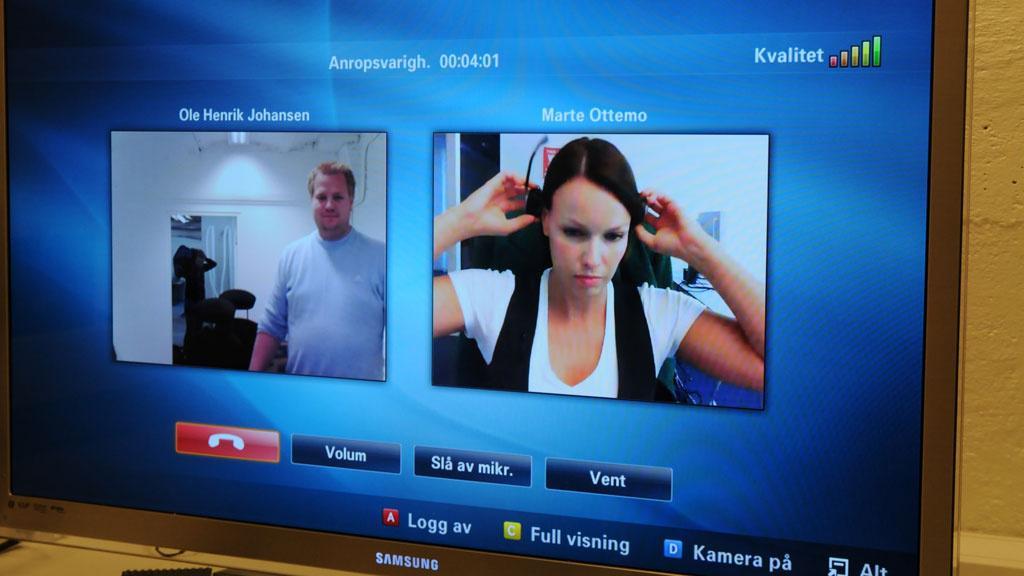 Skype på Samsung.