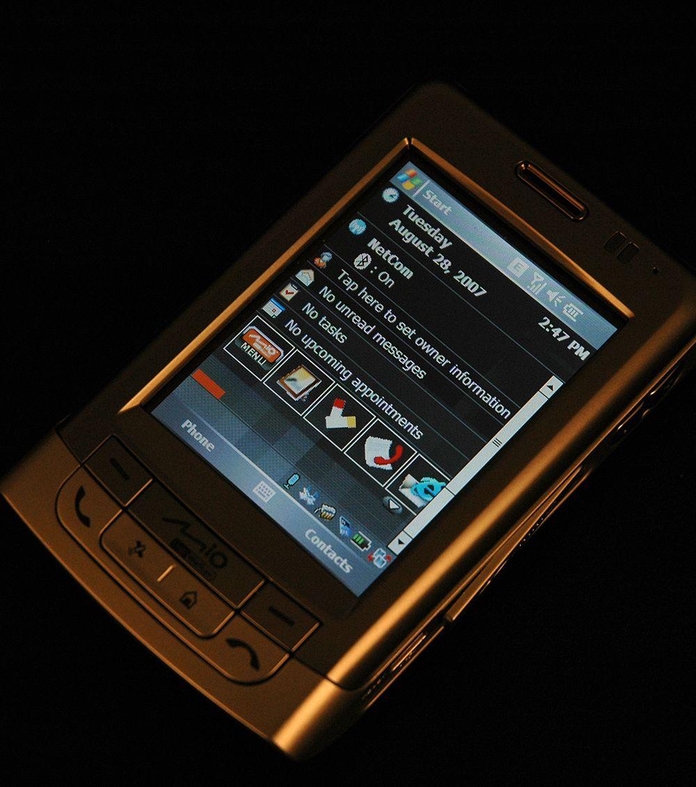 Med Windows Mobile 5 under panseret.