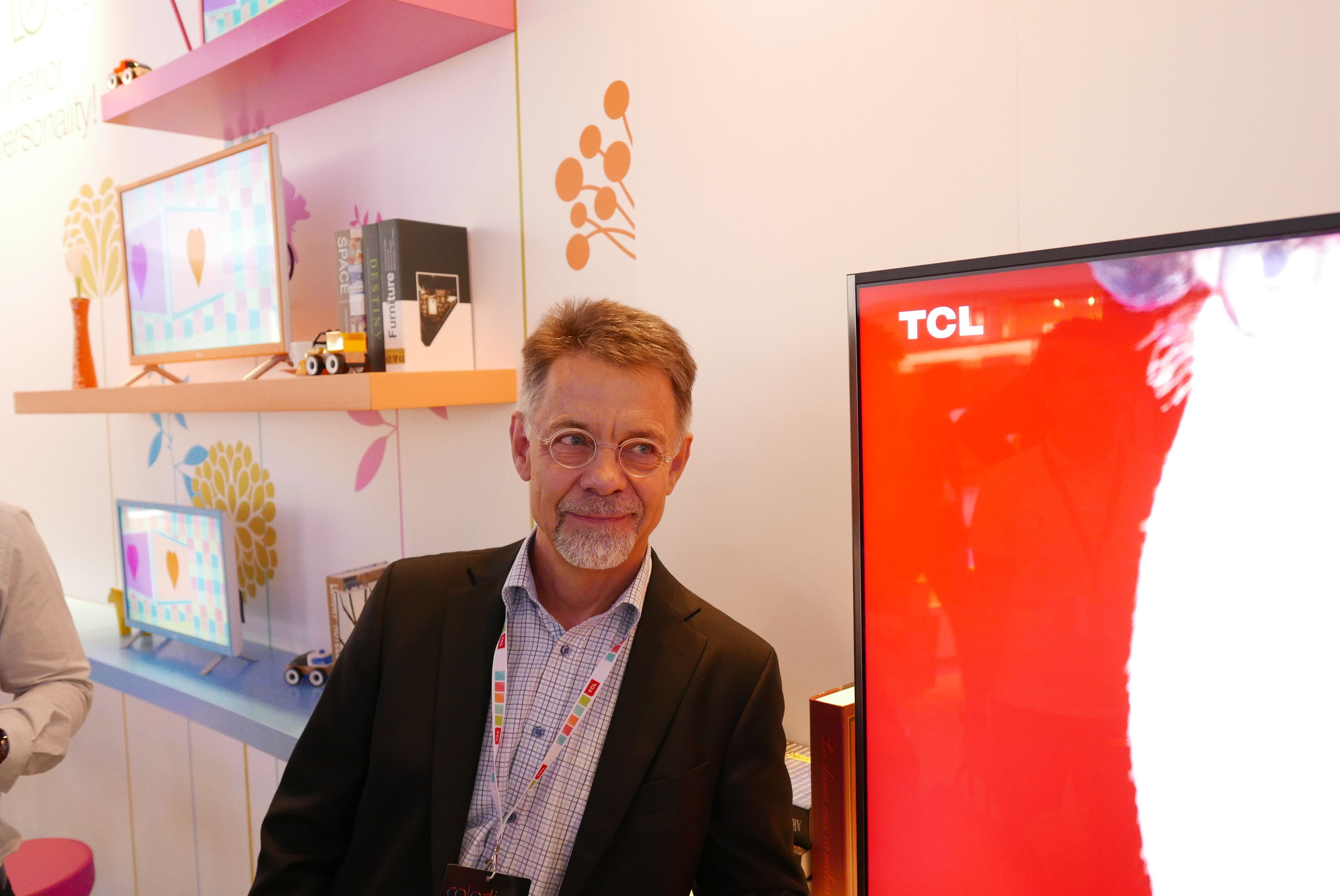 Flemming Møller Pedersen jobber nå i TCL. Foto: Ole Henrik Johansen / Tek.no