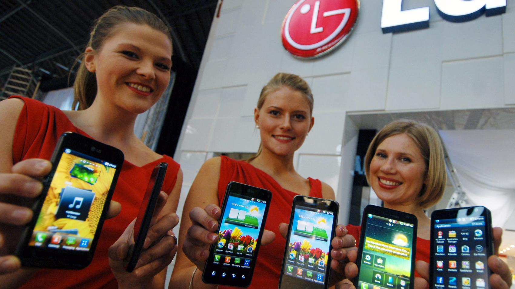 LG med 3D-telefon og nettbrett