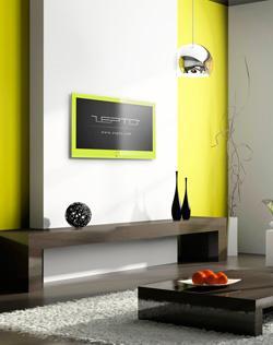Skal det være en gul TV? (Foto: Zepto)