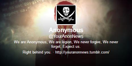 Anonymous stengt ute fra Twitter