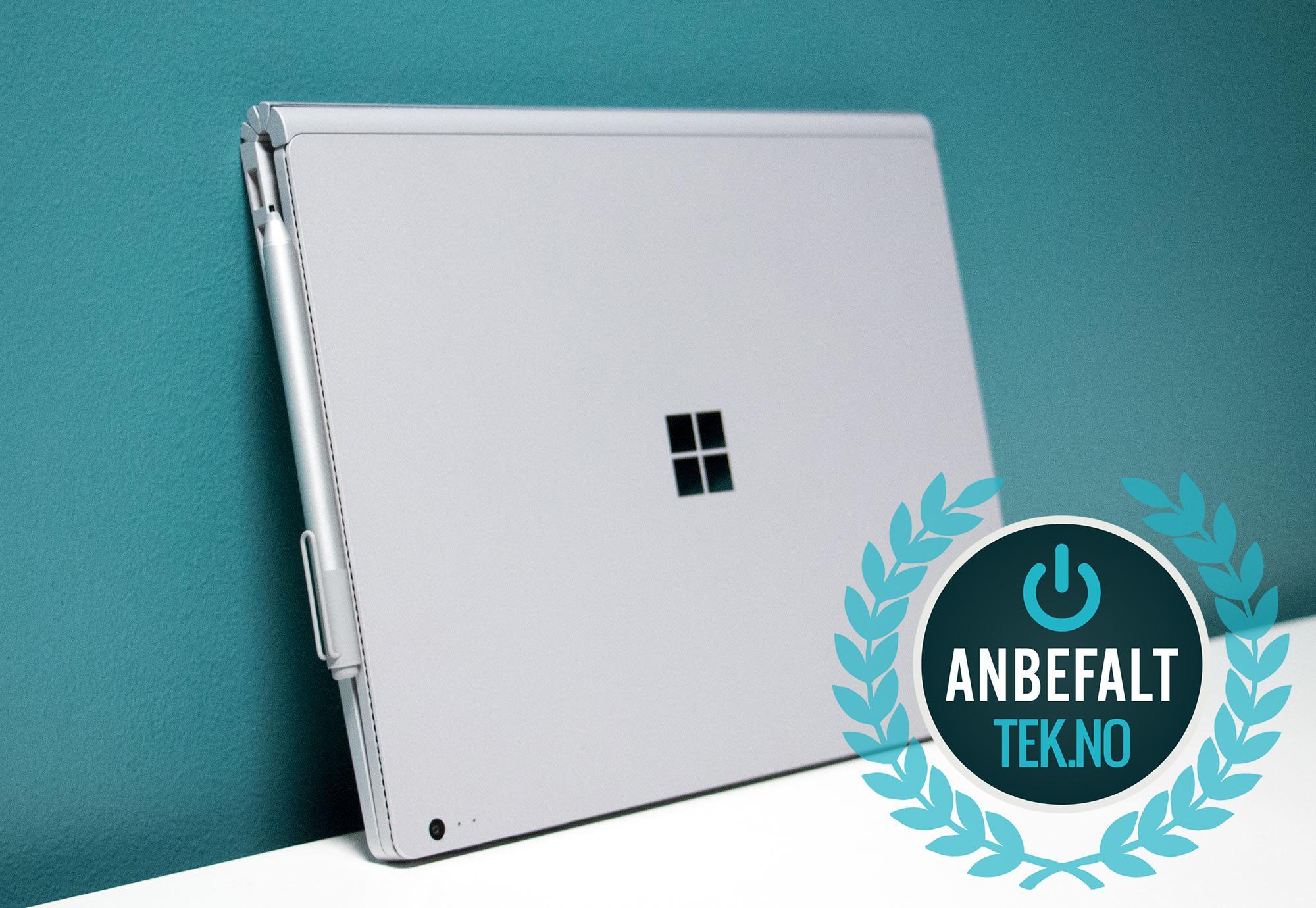 Merk at Surface Pen må kjøpes utenom. Bilde: Niklas Plikk, Tek.no