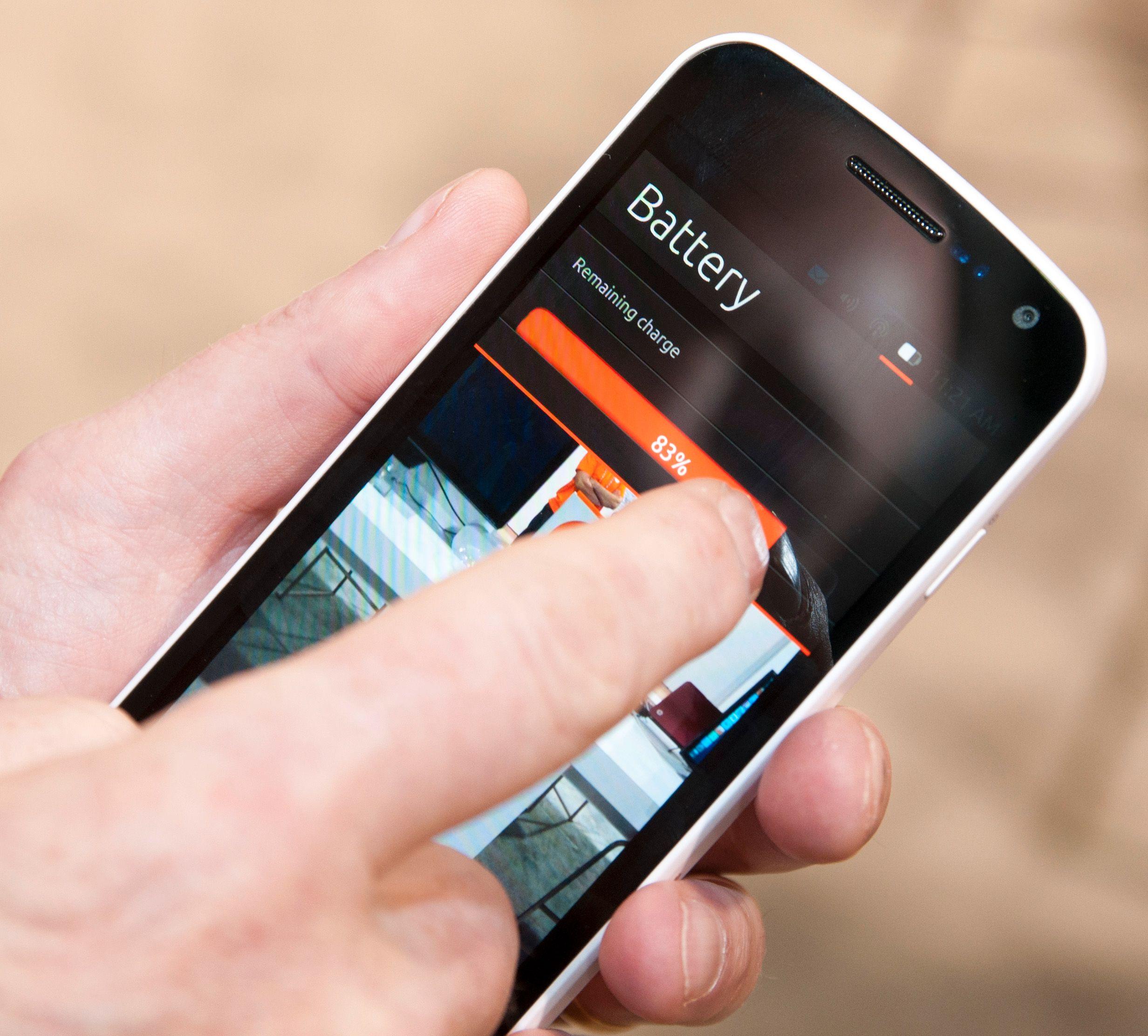 Nedtrekksmenyen i Ubuntu kan brukes til det samme som den tilsvarende menyen i Android, men den kan også brukes til mye mer ...Foto: Finn Jarle Kvalheim, Amobil.no